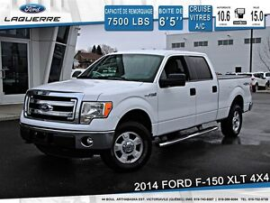 2014 Ford F-150 **XLT*4X4*6 PASSAGERS*CRUISE*A/C**