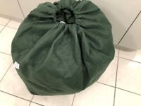 KAMPA GREEN CARAVAN COVER-18FT USED IN EXCELLENT CONDITION!!!