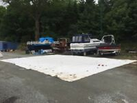 Boat cover 40' x 30' canvas
