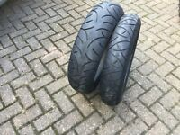 A Pair of Bridgestone tyres