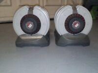 BodyMax Adjustable dumbbells 32.5 kg