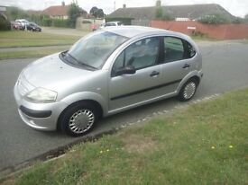 Citroen c3 1.4, 04 reg. 5 Door in silver