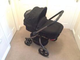 "Mothercare ""Spin"" Pram Pushchair in black"