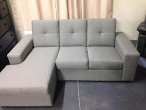 SALE ON NOW CANADIAN MADE CONDO SECTIONAL WITH REVERSIBLE CHASIE JUST $499