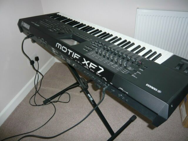 Yamaha Motif XF7 Synthesizer/Workstation | in Bognor Regis, West Sussex |  Gumtree