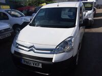 NEW SHAPE CITROEN BERLINGO 1.6HDI 92BHP EURO 5 3 SEATS 2012/61REG £2999 PLUS VAT