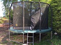 JUMPKING Oval Pod Trampoline