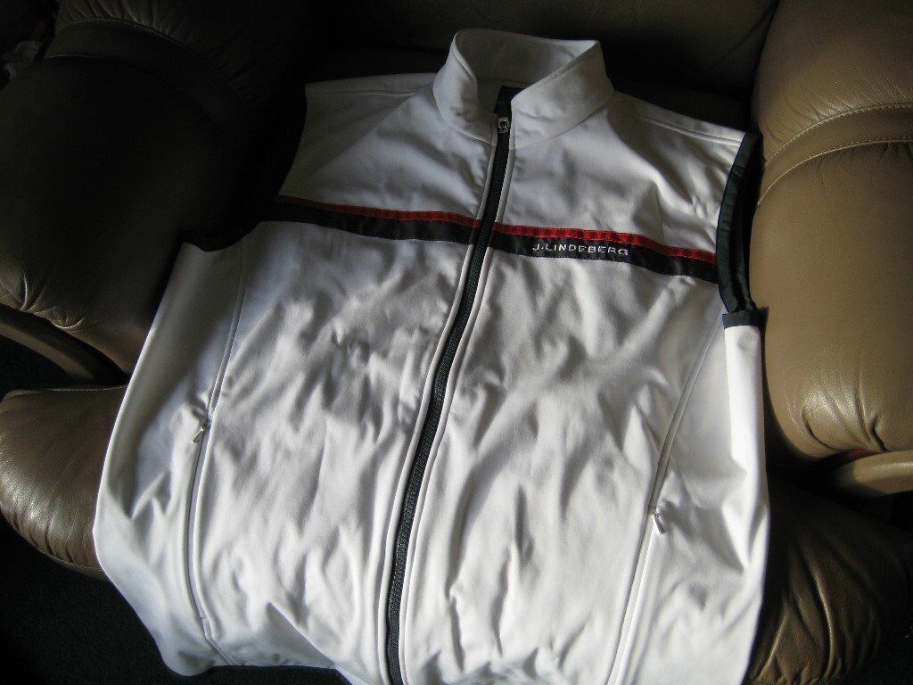 J.Lindeberg Sleeveless Golf jacket for the poser!!! Medium