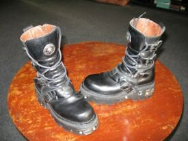 New Rock Reactor boot size 8/42