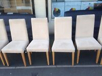 john lewis oak table with 6 chairs and matching sideboard