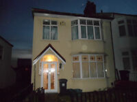 3 Bed Semi Detached House - Wessex Ave - P/Furn/Exc