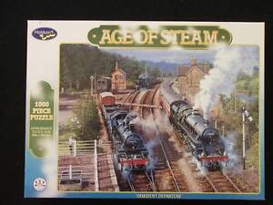 jigsaw puzzle 'Age of Steam' Walkley Heights Salisbury Area Preview