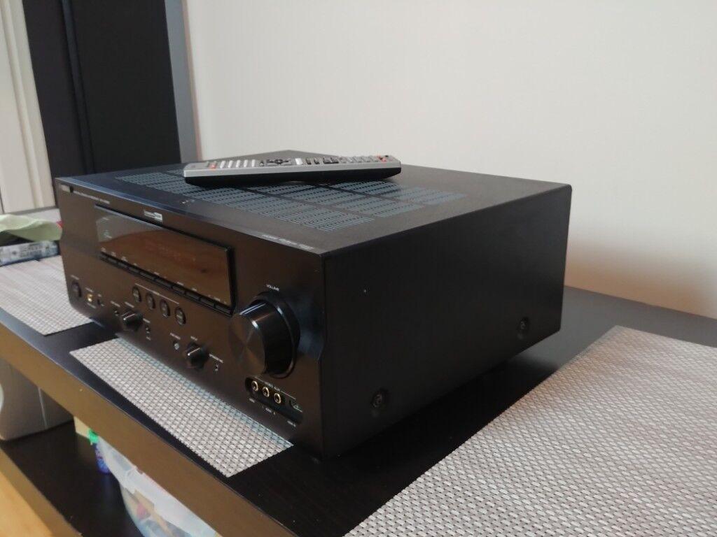 Yamaha avr av receiver amplifier amp 7x130w network receiver player usb mp3  flac   in Derby, Derbyshire   Gumtree