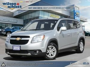 2012 Chevrolet Orlando 1LT 1 OWNER, ACCIDENT FREE