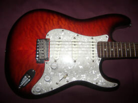 Fender Squier Standard Stratocaster Electric Guitar Special Edition.