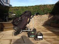 Powercaddy Golf Cart and Golf Bag