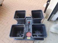 Wilma Dripper Systems (Large 4 (18 Litre Pots)) hyroponics system