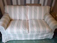 Multicolor (Striped) 2 Seater Sofa from IKEA