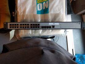 HP V1910-24G-PoE (JE006A) 24-Port Gigabit Ethernet Switch