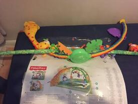 Fisher price rainforest activity gym