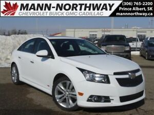 2014 Chevrolet Cruze LTZ | RS, Sunroof, Cruise, Leather.