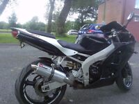 Kawasaki ninja zx6r mint condition