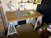 Art Desk with Full Paint Set + accessories
