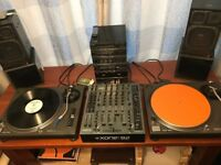 2 TECHNICS 1210MK 2 XONE 92 MIXER EXCELLENT CONDITION