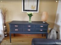 Fabulous Stag drawers/dressing table/desk/consol table.
