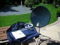 Falcon Camping/Caravanning Satellite System.