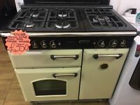 LEISURE 90CM ALL GAS RANGE STYLE COOKER IM CREAM