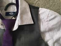 Boys suit 3 years (waistcoat, shirt, tie and trousers)
