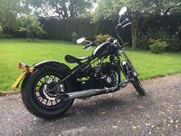 AJS 125cc bobber