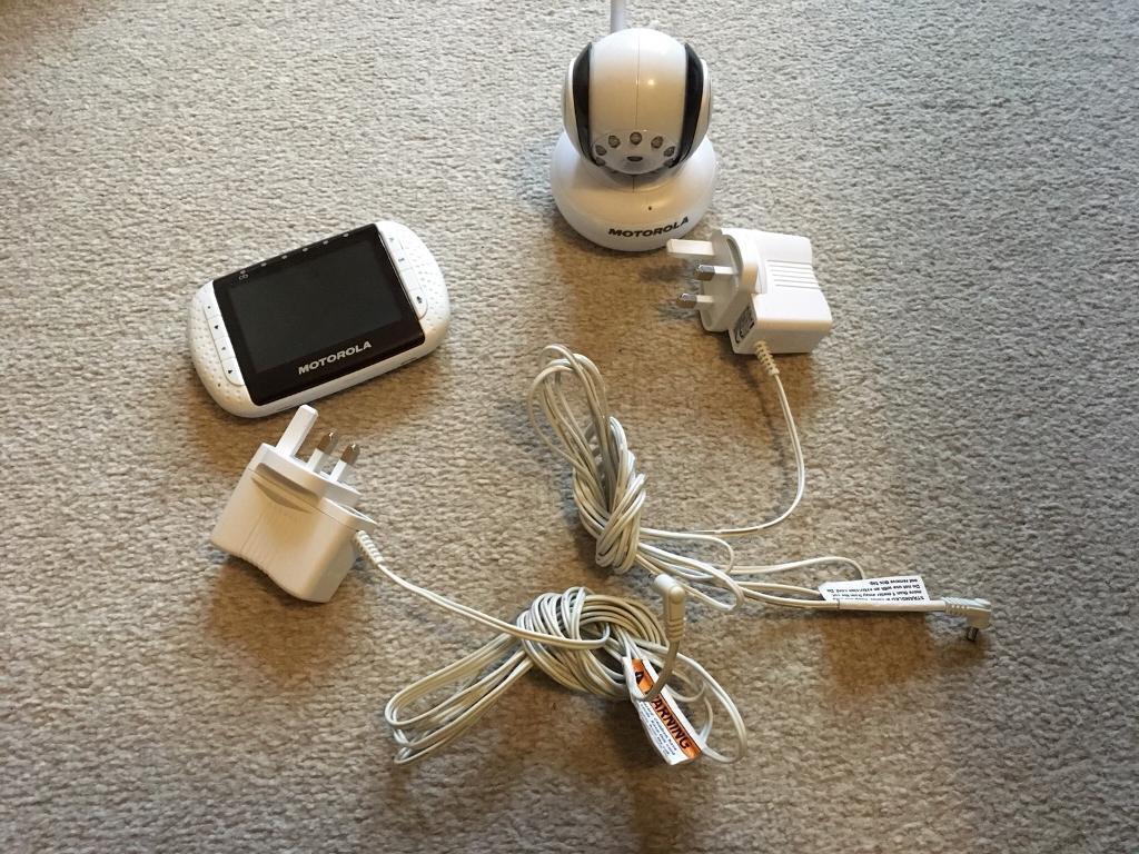 Motorola MPB36 Colour Baby Monitor and Camera