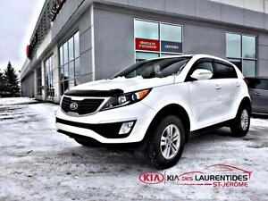 2013 Kia Sportage FWD*LX*A/C*BLUETOOTH* 8 ROUES&MAGS*BANC CHAUFF