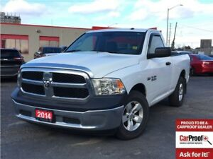 2014 Ram 1500 SXT**5.7L**V8**6'4 BOX**ONE OWNER TRADE**