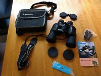 Binoculars Bresser 10 x 50 as new with case