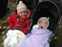 Live-out nanny in Northfields, 3 days a week, to look after our two girls (aged 3 and 8 months)