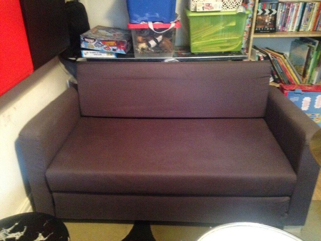Sofabed (Ikeain Romiley, ManchesterGumtree - In good condition Ikea Sofabed. Used in childrens playroom and always covered with throws. Collection Romiley please