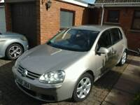 VOLKSWAGEN GOLF 1.6 FSI SPORT, VERY LOW MILEAGE, FSH, ONE PREVIOUS LOCAL LADY OWNER