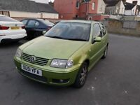 Vw polo 1.4 petrol MOT 7months 115mileage very good condition clean in and out 600£ negotiable price