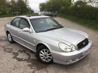 LOOK HERE AUTOMATIC FANS, 54 HYUNDAI SONATA 2-0CDX AUTO, PURE LUXURY, AWESOME, IMMENSE & £595 P/EX'S
