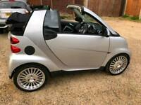 Smart car MHD 1.0 litre convertible