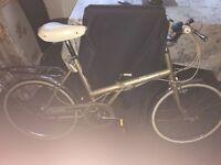 Raleigh fold away bike