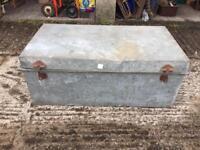 Vintage Metal Storage Trunks/Chests