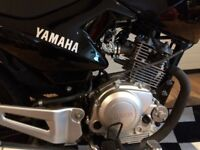 Yamaha YBR125 2014 484 miles only 1 owner from new MOT'd Feb 18 New Condition