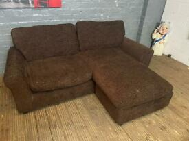 SMALL MEDIUM CORNER SOFA VERY COMFY GOOD CONDITION