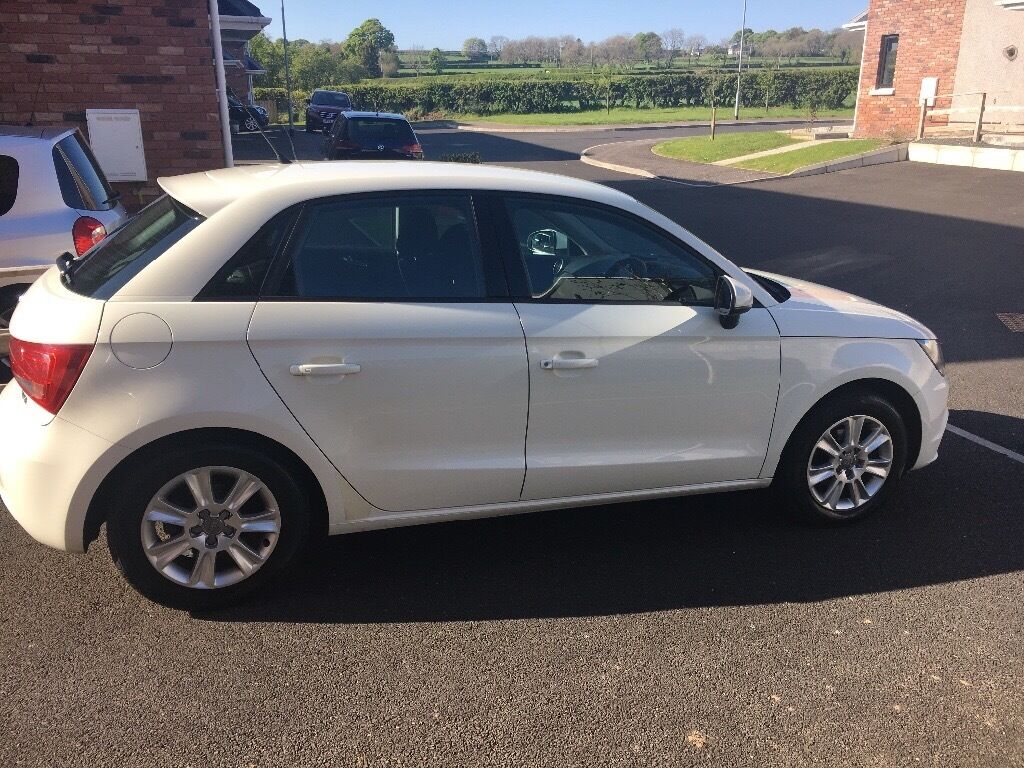 audi a1 se tfsi 5 door hatchback 1 2 amalfi white in ballyclare county antrim gumtree. Black Bedroom Furniture Sets. Home Design Ideas