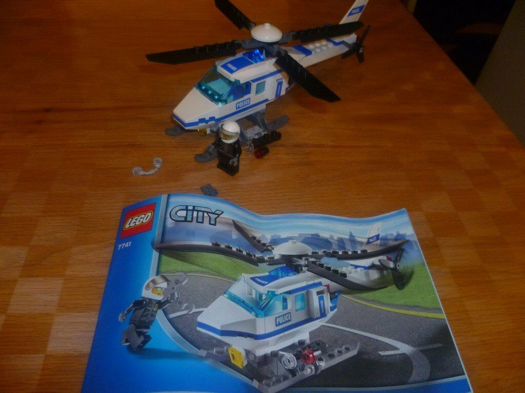 lego city 7741 police helicopter in tingley west