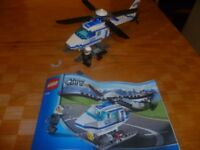 LEGO City 7741: Police Helicopter